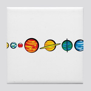 Pluto Who? Tile Coaster